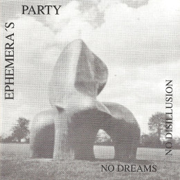"Cd Cover ""No Dreams No Disillusion"""